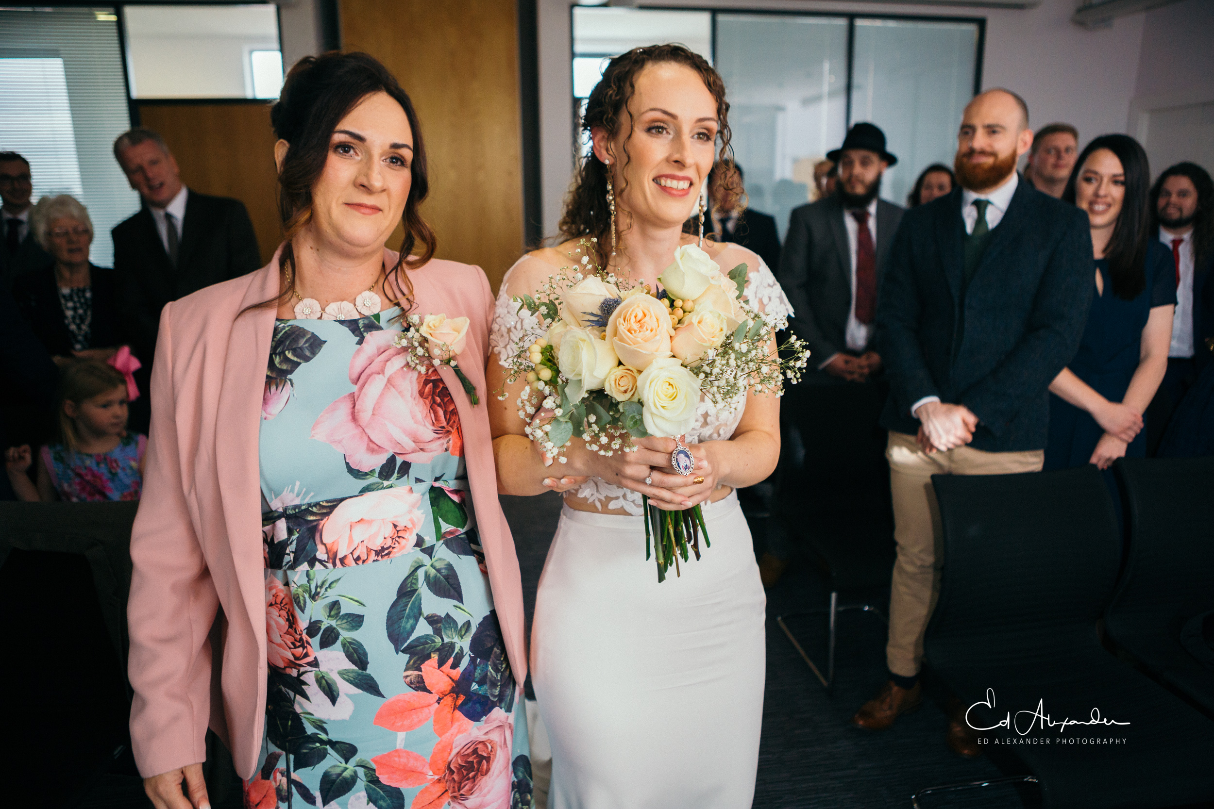 liverpool wedding photography bride ceremony