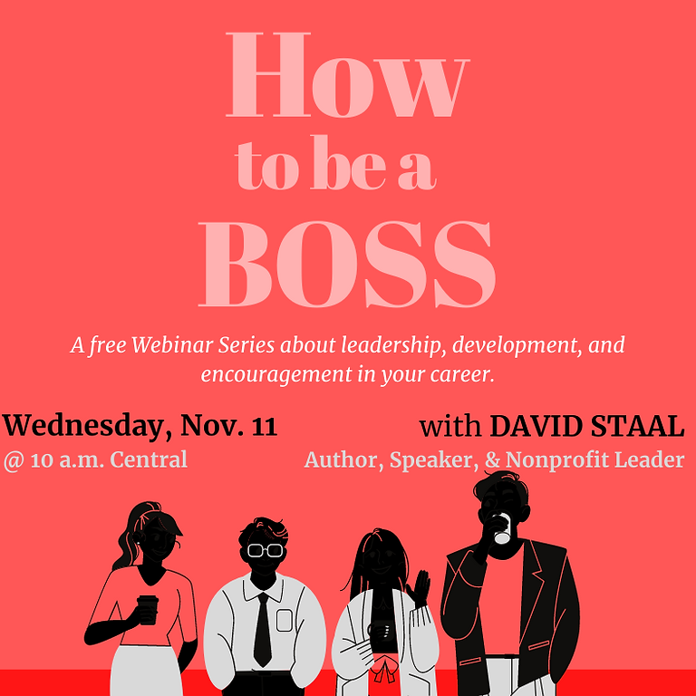 How to Be a Boss
