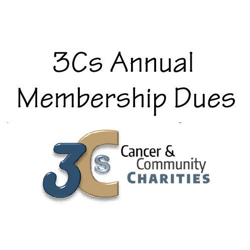 3Cs Annual Membership Dues