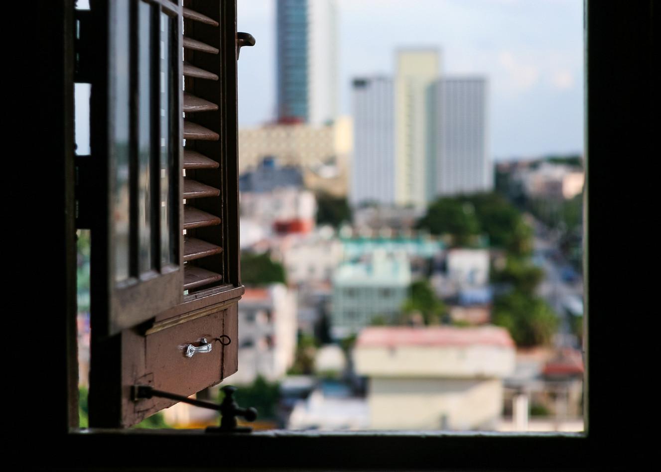 Ventana. La Habana
