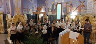 Первое Богослужение любительского хора нашего прихода