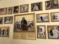 Экспозиция с сюжетами из жития святой матушки Ксении