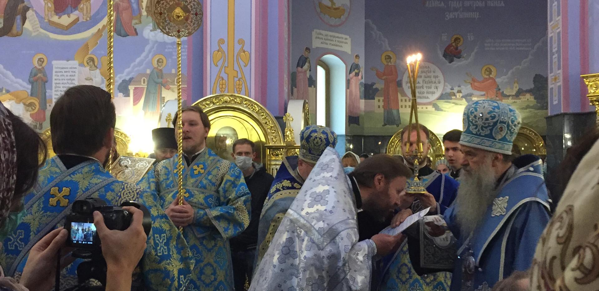 Настоятель нашего храма протоиерей Павел Кудряшов удостоен высокой церковной награды
