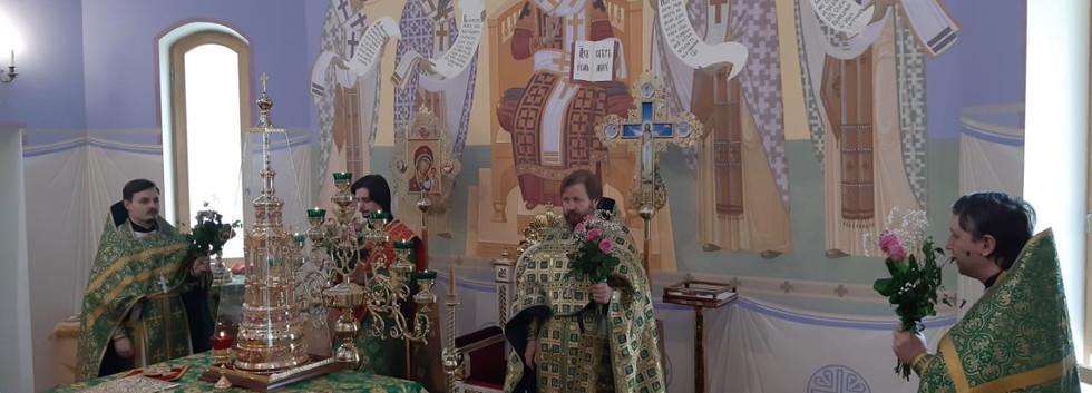 Престольный праздник в храме святой блаженной Ксении Петербургской на Лахтинской улице 17