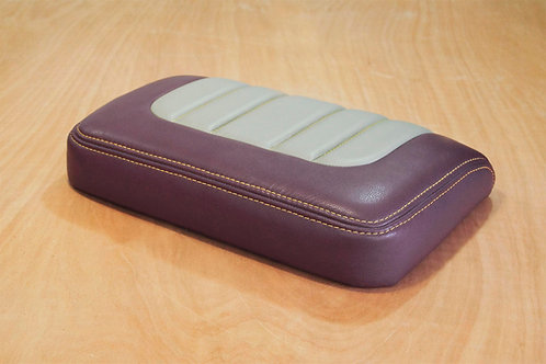 How to double-stitch and do foamed pleats on a seat