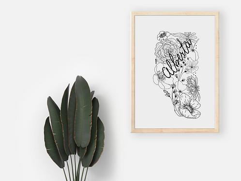 Alberta Floral Print