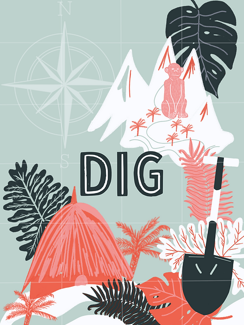 DIG Card Game (Pick Up Only)