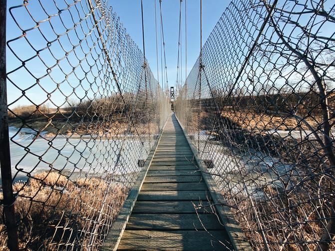 Hidden Swinging Bridge