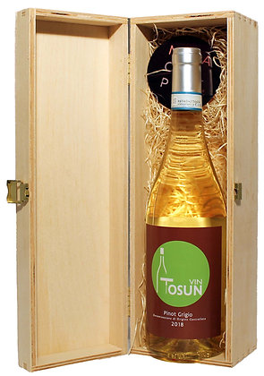 Vin ToSun Pinot Grigio in der Holzkiste 0,75l