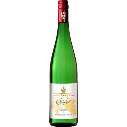 STIGLERs Riesling & Grauburgunder Cuvée Trocken - Weingut Stigler