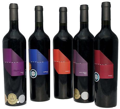 Mozaik Mahrem Edition 5x 0,75l Premiumweine aus der Türkei