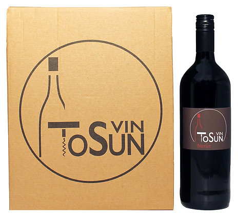 Vin ToSUN - Merlot 1,0 L  11+1 Aktion