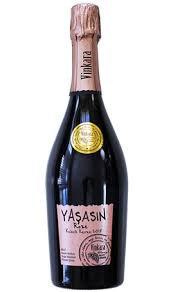 Vinkara Yaşasın Brut Rosé Premium Sekt