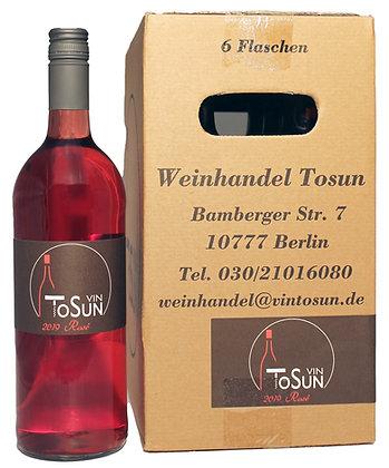 Vin ToSUN Rosé  1,0 L 11+1 Aktion