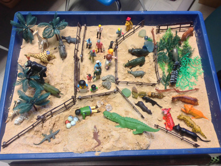 Sand Tray Therapy:  It's Origin and Practice