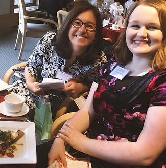 Catherine and Julie Regents Dinner S18.j