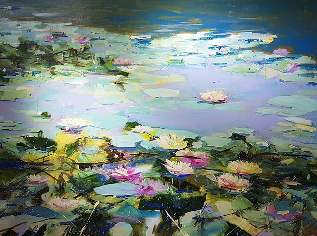 Sudeley Water Lillies