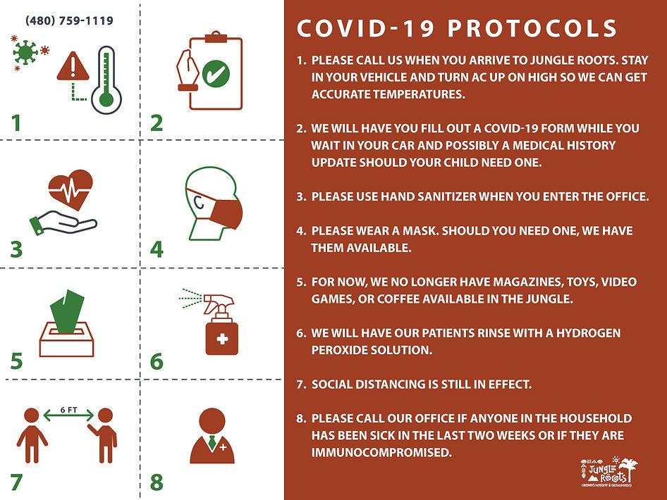 Jungle Roots Covid-19-Protocols