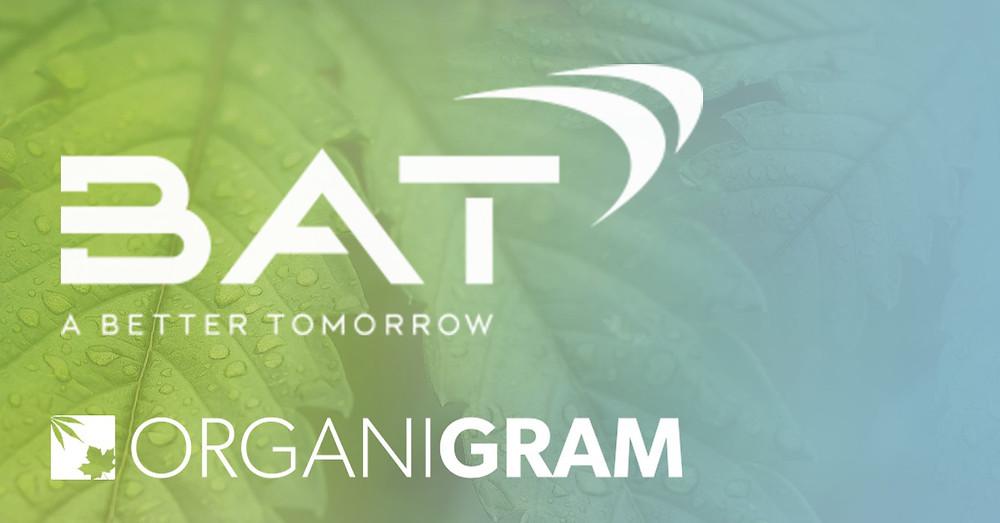 British American Tobacco (BAT) Invests $177 Million In Organigram To Develop Cannabis Products