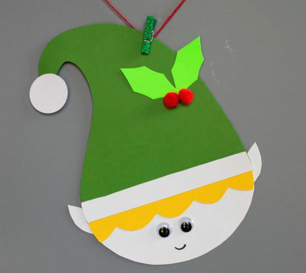 Paper Elf Crafts