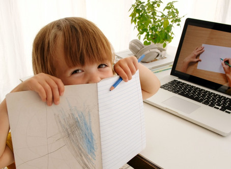 9 Awesome Crafts and Some Helpful Hints for Remote Learning