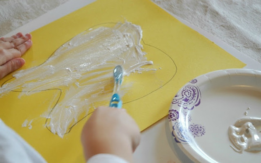 What We Can Do with Paper and Glue: Preschool Craft