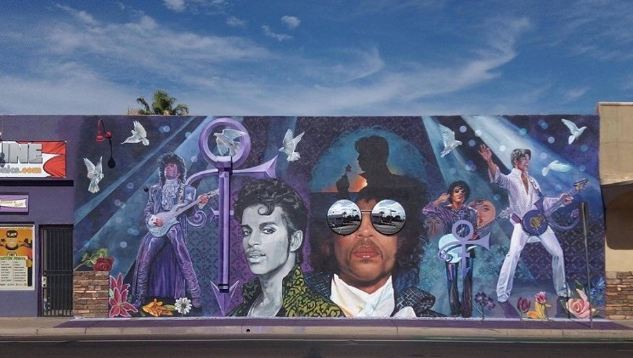 Prince Tribute by: Phoenix Artist Maggie Keane