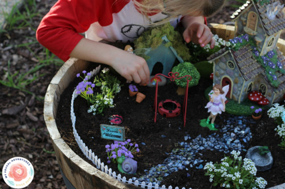 Fairy gardens from The Prudent Penny Pincher