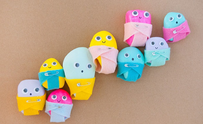 Painted Rock Babies from Handmade Charlotte