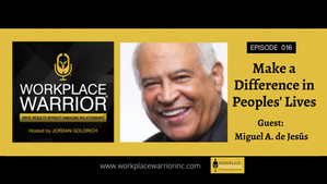 Miguel A. De Jesus: Making a Difference in People's Lives