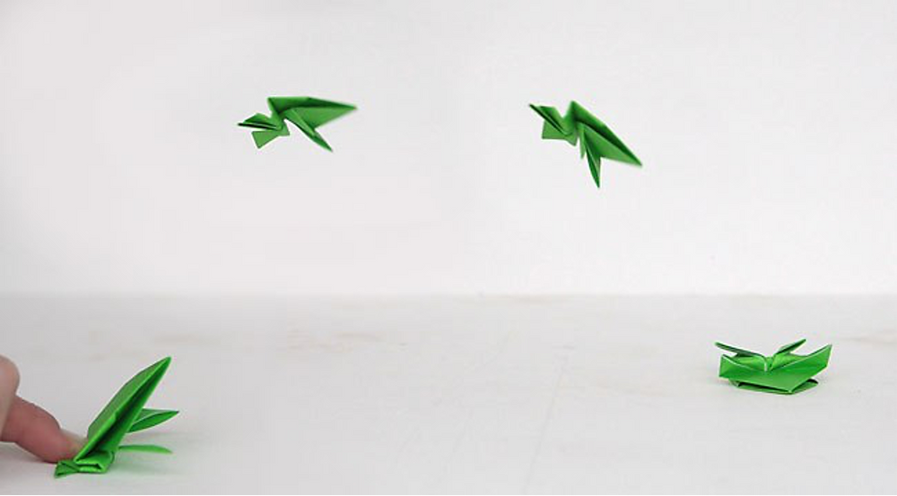Origami jumping frogs (that really jump!) from It's Always Autumn