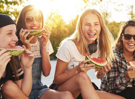 Healthy lunch and snack ideas when you can't brush your teeth afterward...