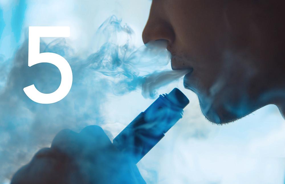 Avoid Smoking, Vaping and Drinking