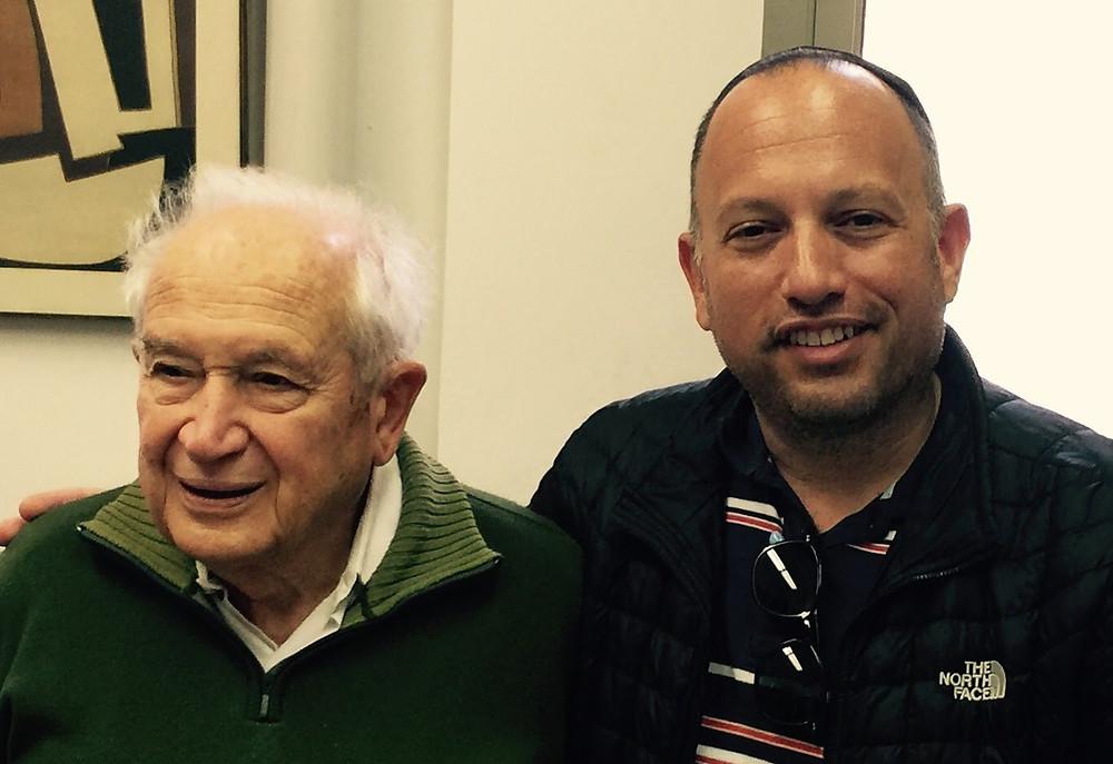Professor Raphael Mechoulam & Seth Yakatan