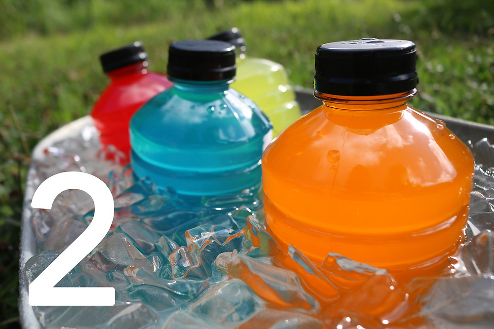 Sports Drinks and Soda
