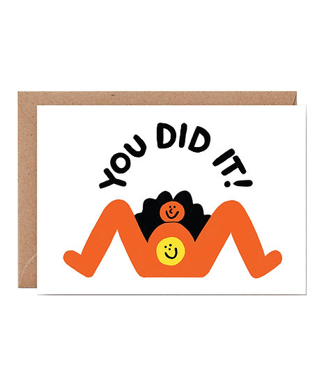 CARI VANDER YACHT You Did It Card