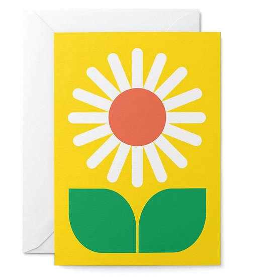 GRAPHIC FACTORY Daisy Card