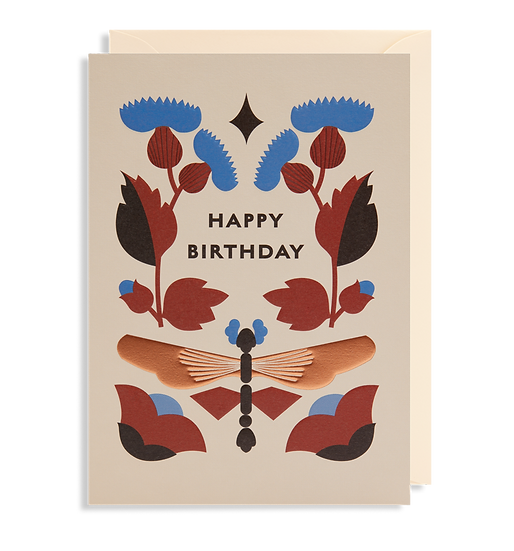 DARLING CLEMENTINE Birthday Putty Card