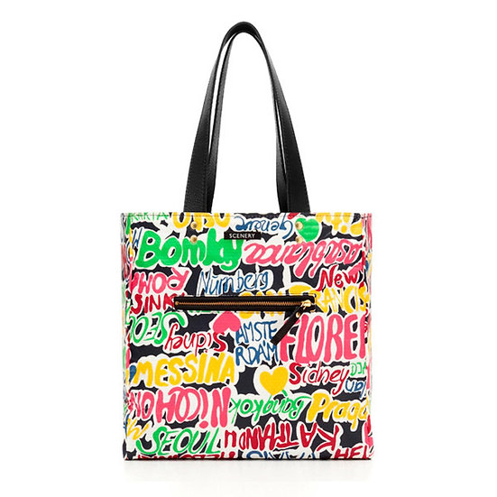 WHOLESALE Reversible Bag Graffiti