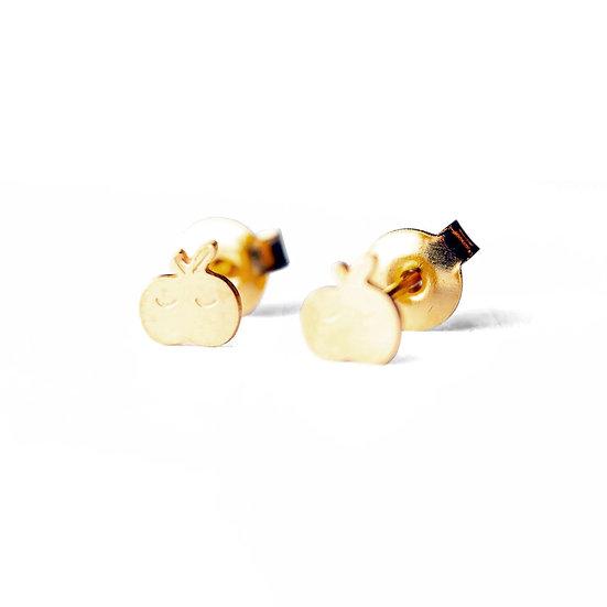 ADORABILI Apple Stud Earrings