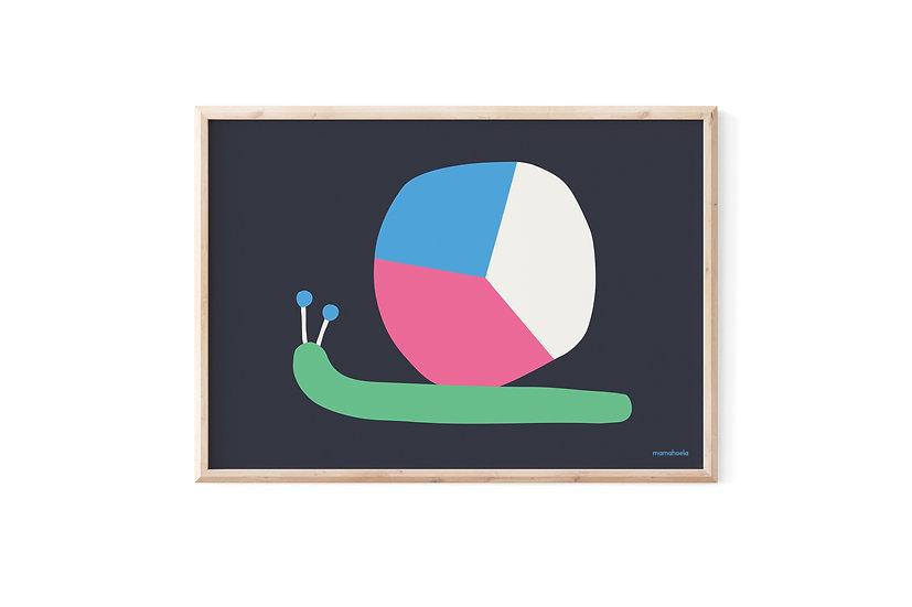 MAMAHOELA Snail Print
