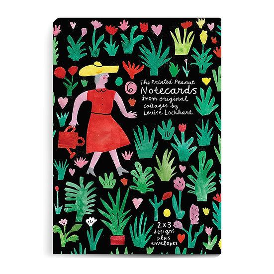 THE PRINTED PEANUT Garden Card Set