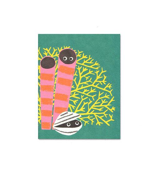 LISA JONES STUDIO Coral Card