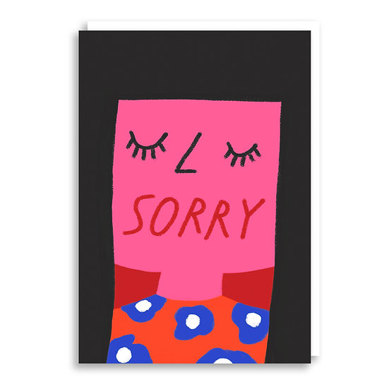 CACHETEJACK Sorry Card