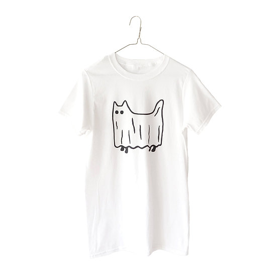 GILLIAN WILSON Ghost Cat T-Shirt