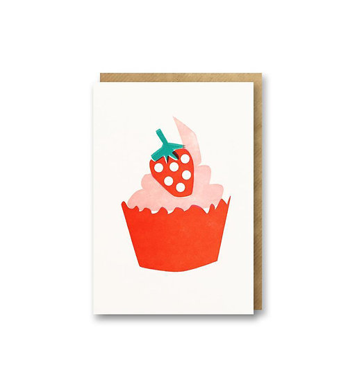 BITS AND BOBS Cup Cake Card