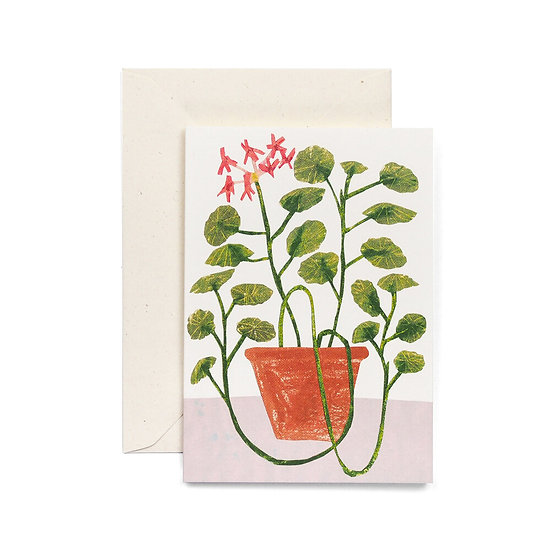 HADLEY Scented Geranium Card