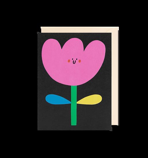 SUSIE HAMMER Flower Card