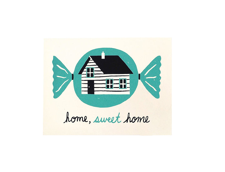GILLIAN WILSON Home Sweet Home Card