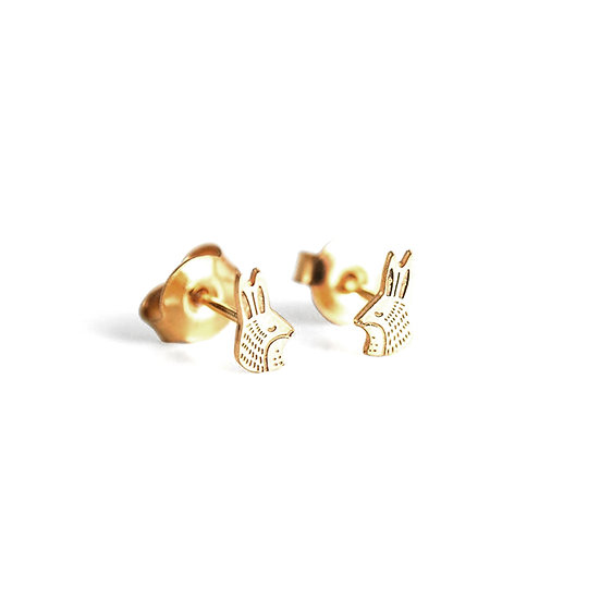 ADORABILI Rabbit Stud Earrings